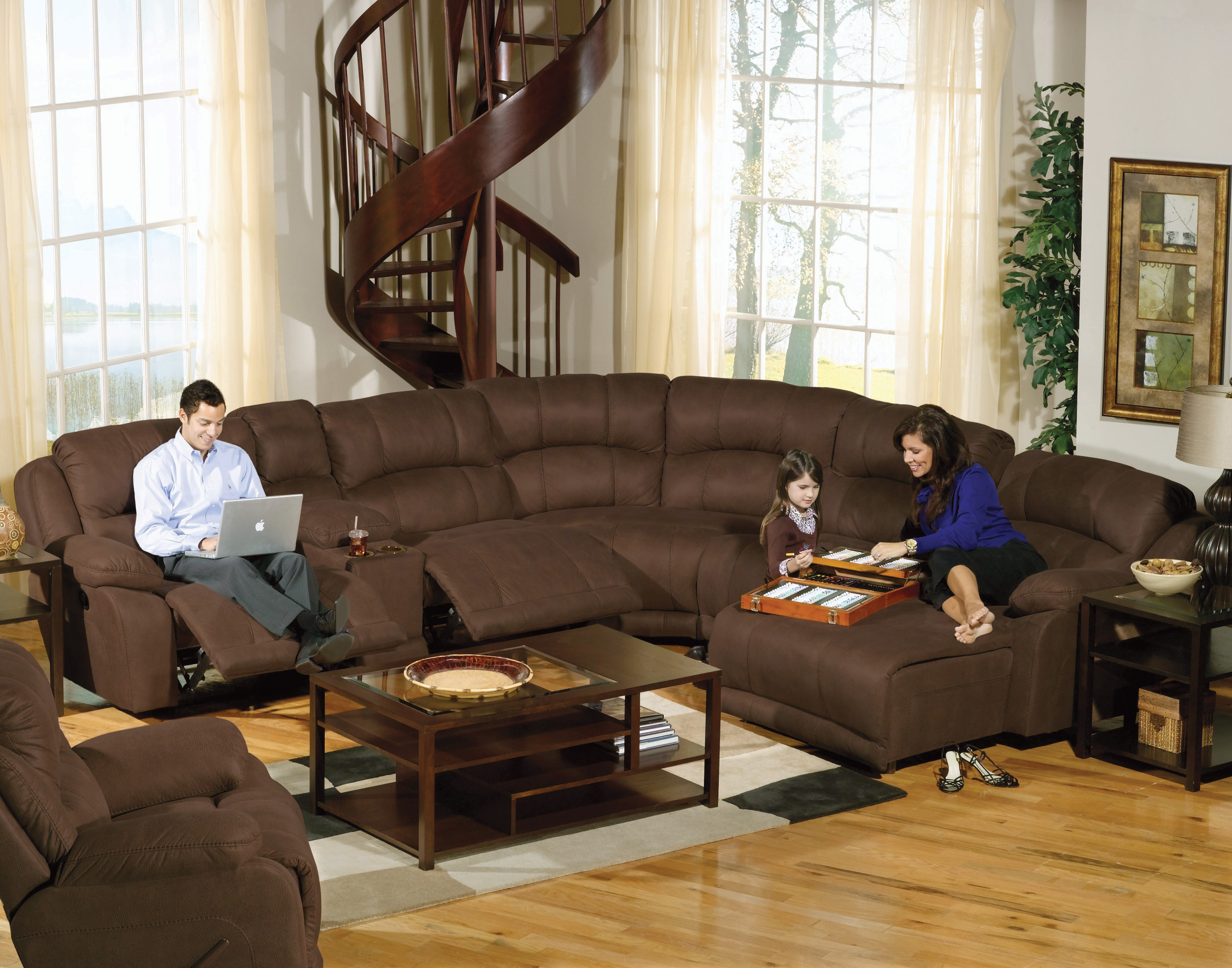 Large Sectional Sofas Perfect For Your Living Room & Extra Large Sectional Sofas With Recliners | Centerfieldbar.com islam-shia.org