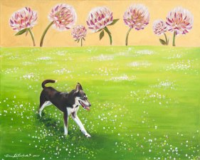 "Clover Fields Oil on Canvas 24 x 30"" 2015"