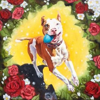 "Oil on Canvas24 x 24 x 1.5""2016"