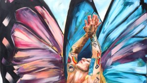 BUTTERFLY GODDESS DETAIL BY DARCY GOEDECKE