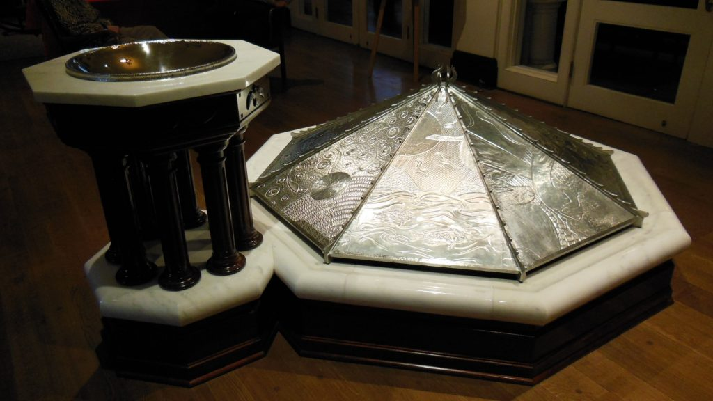 Baptismal Font complete