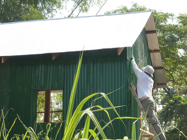 Building in Cambodia with the Tabitha Charity