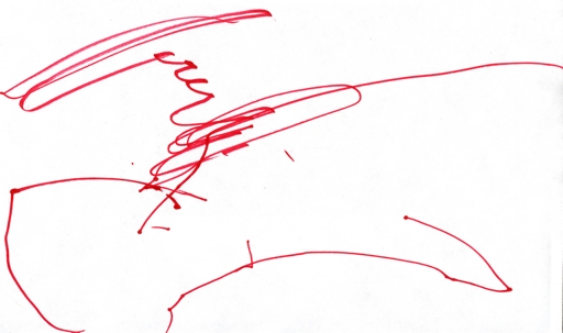 Evan's First Drawing - Ever