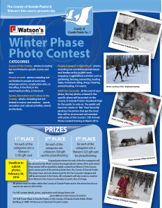 GP Winter Photo Contest