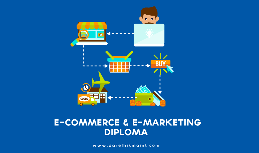 marketing, diploma; course; e-commerce