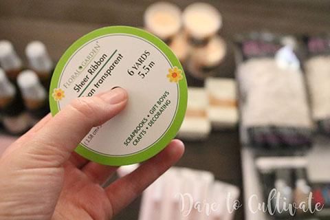 Sheer Ribbon for DIY Bridesmaid Box