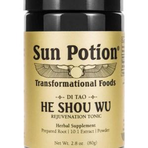 Sun Potion He Shou Wu Front View