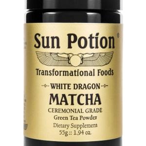 Sun Potion White Dragon Matcha Front View