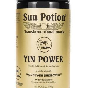 Sun Potion Yin Power Front View