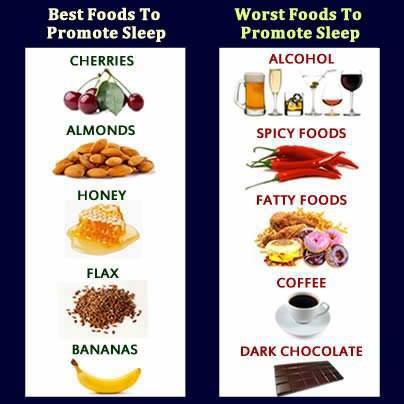 foods that promote sleep