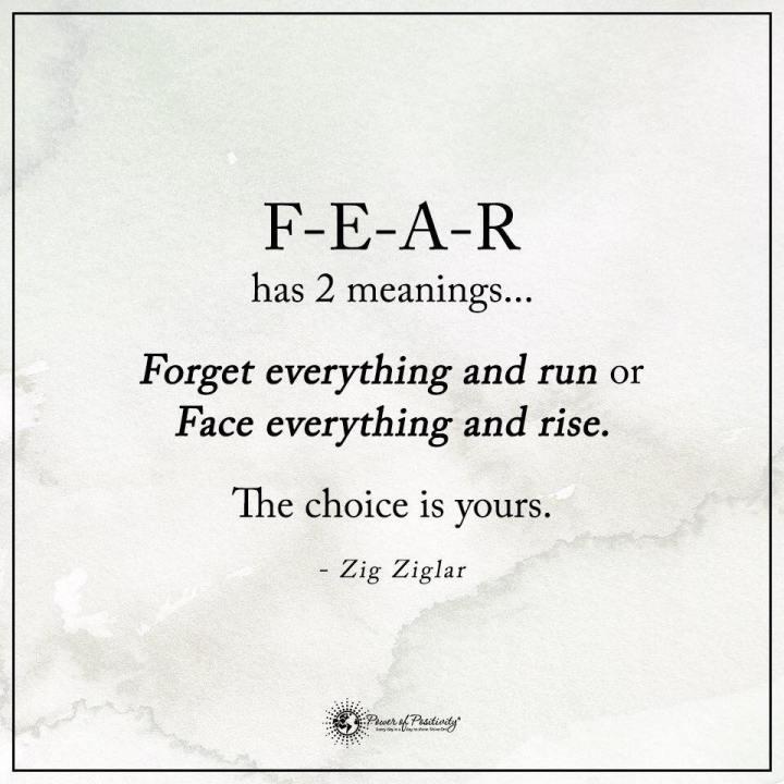 FEAR DEFINED