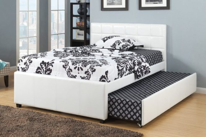 Best Trundle Bed Full Size Daybed Pop Up With A