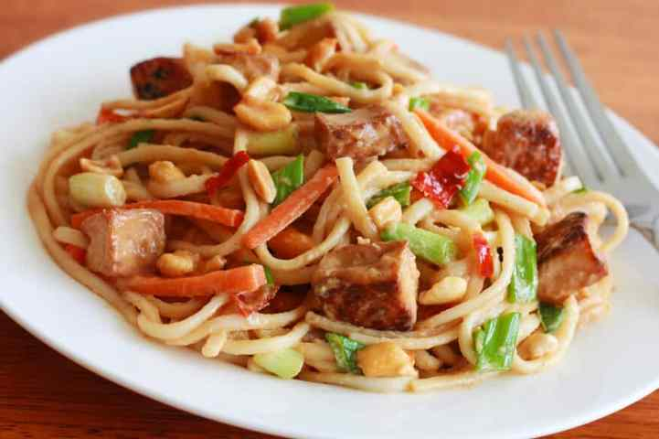 Tofu Pasta - Healthy Breakfast for Indian