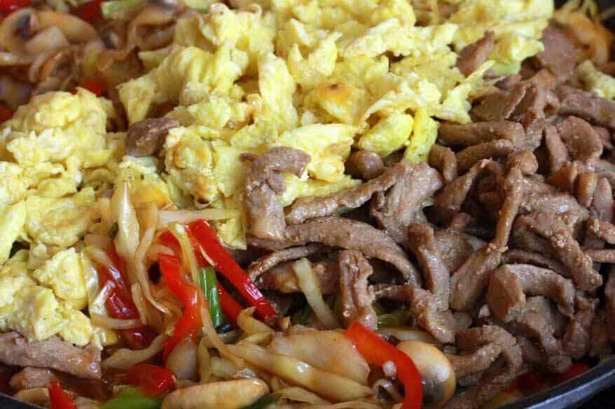 Mu Shu Pork prep 18