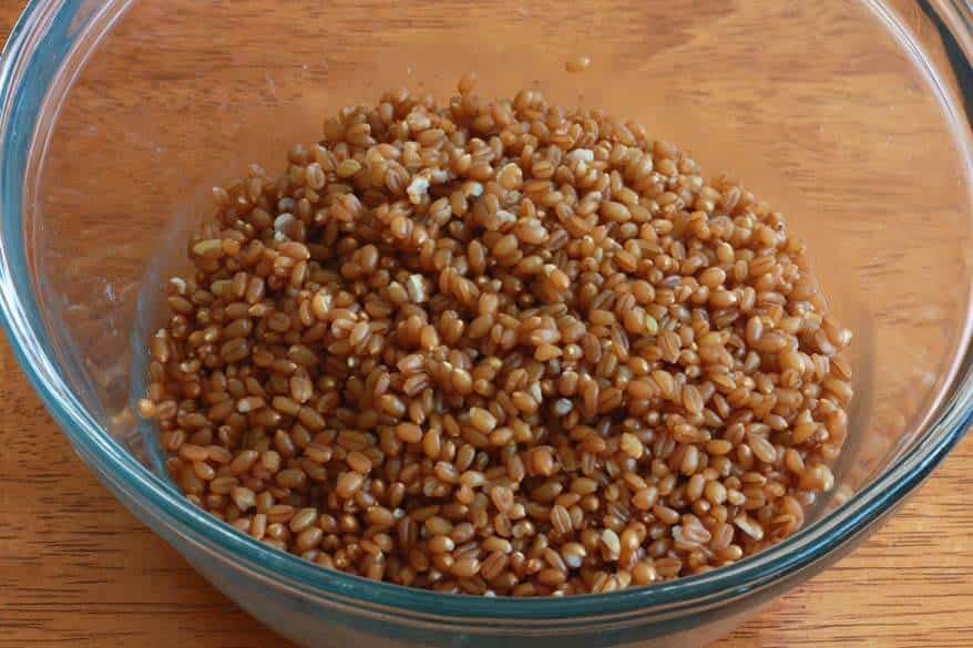 Wheat Berry Salad prep 5