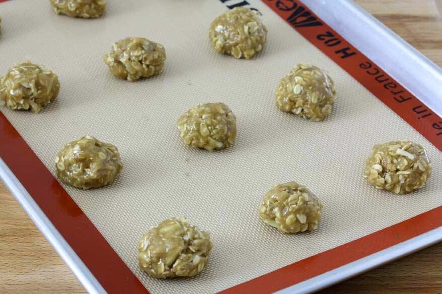 Almond Anzac Cookies prep 7