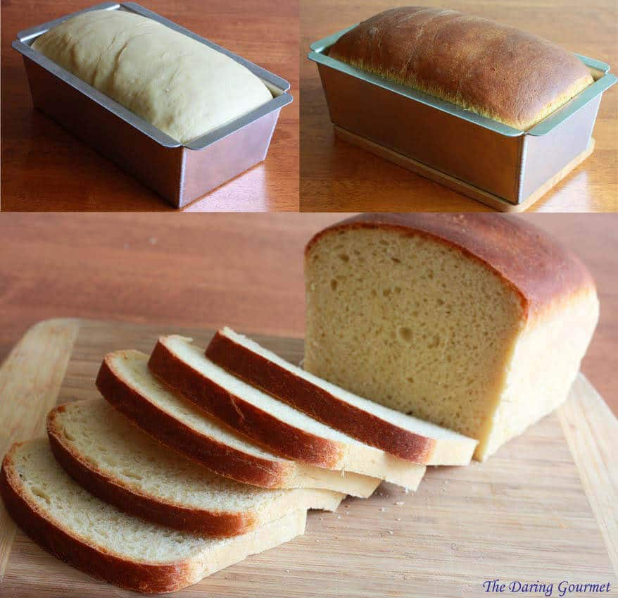 white sandwich bread recipe sliceable best