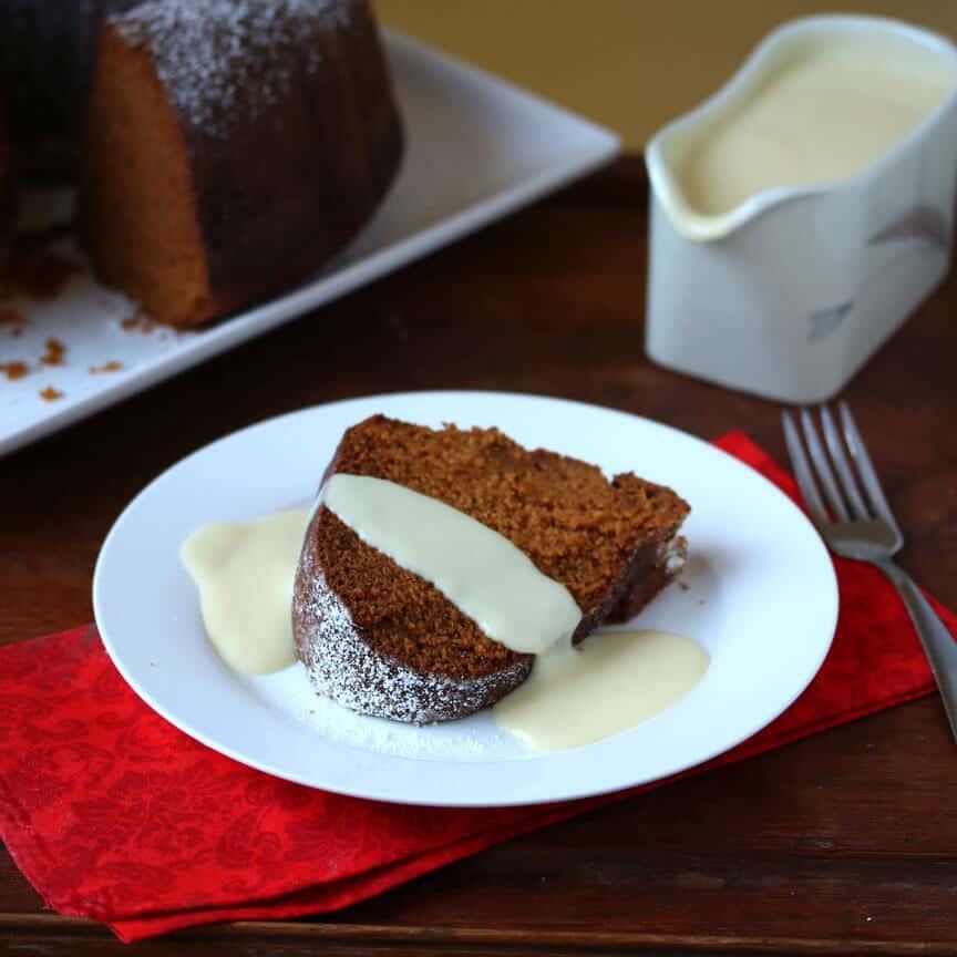Pumpkin Eggnog Cake 12