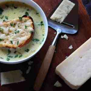 white creamy french onion soup recipe