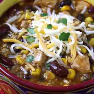 Chicken couscous chili recipe fast easy simple