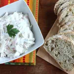 homemade German fleischsalat recipe rezept hausgemacht selbstachen