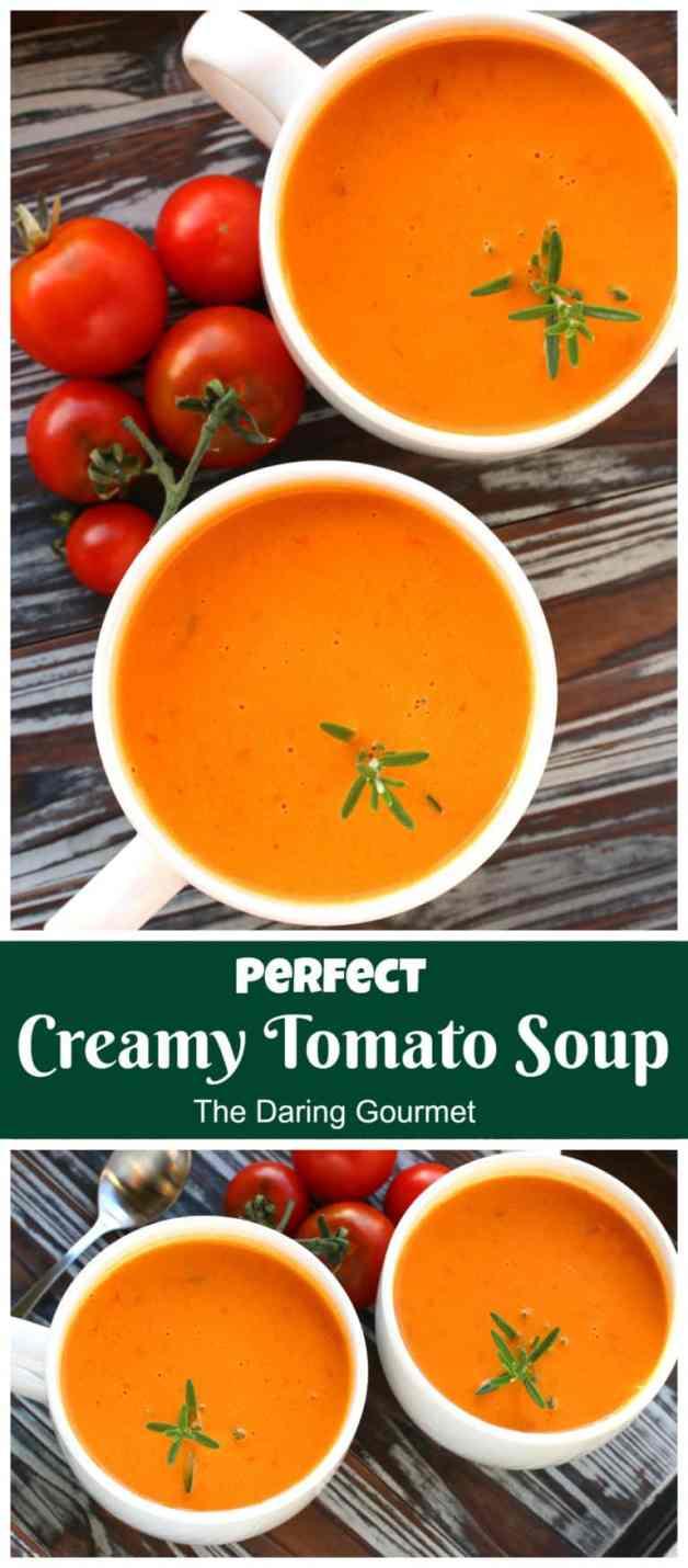 creamy tomato soup recipe best