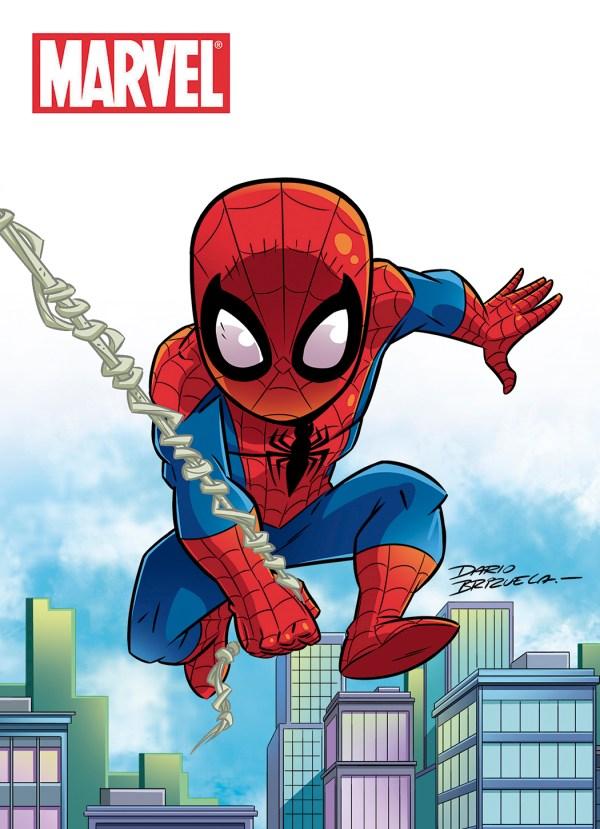 Cartoony Spider-Man