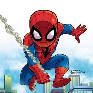 Cartoony Spider-Man