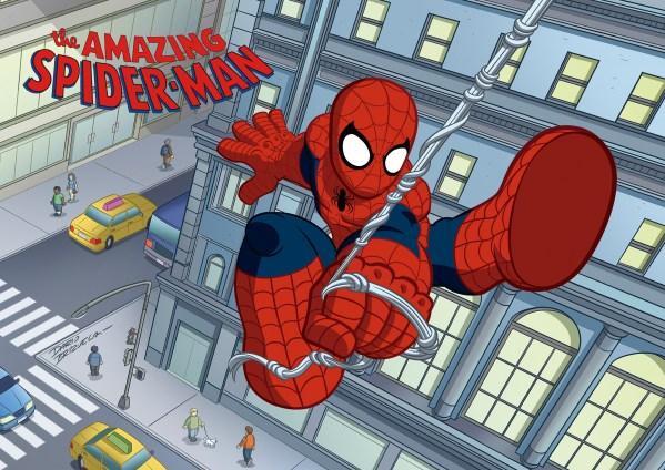 Print for sale of Marvel Super Hero Adventures Spider-Man