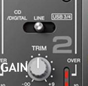Collegamenti audio switch