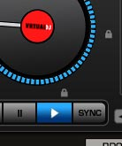 Tasto Sync in Atomix Virtual Dj