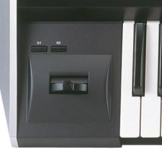 Pitch bending tastiera sintetizzatore roland