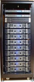 Rack sequenza finali collegati