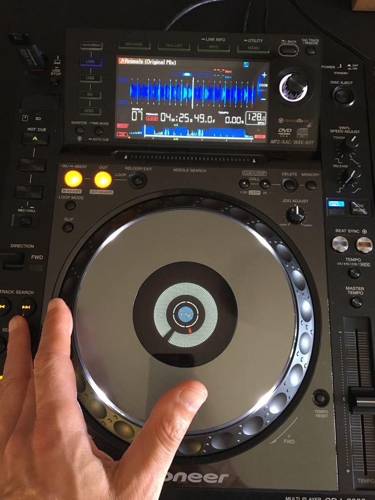 beatmatching pioneer cdj