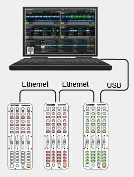 collegamenti ehternet link a cascata