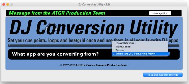 Tool di conversione djcu