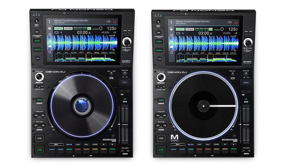 Denon SC6000 e Denon SC6000M