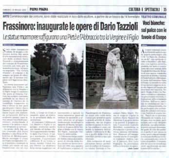 Prima Pagina 25 maggio 2014