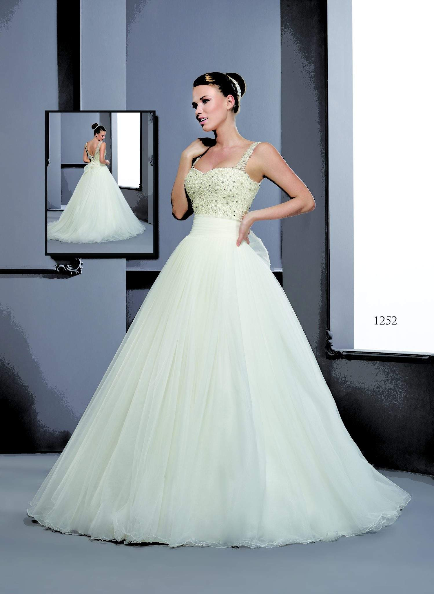 477002186629 Wedding Dresses with Spaghetti Straps - Darius Cordell Fashion Ltd