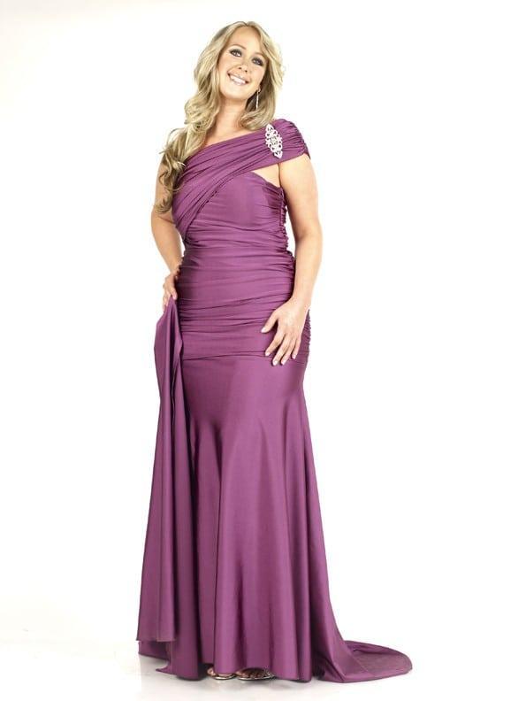 Ruched Plus Size Pageant Dresses - Darius Cordell Fashion Ltd