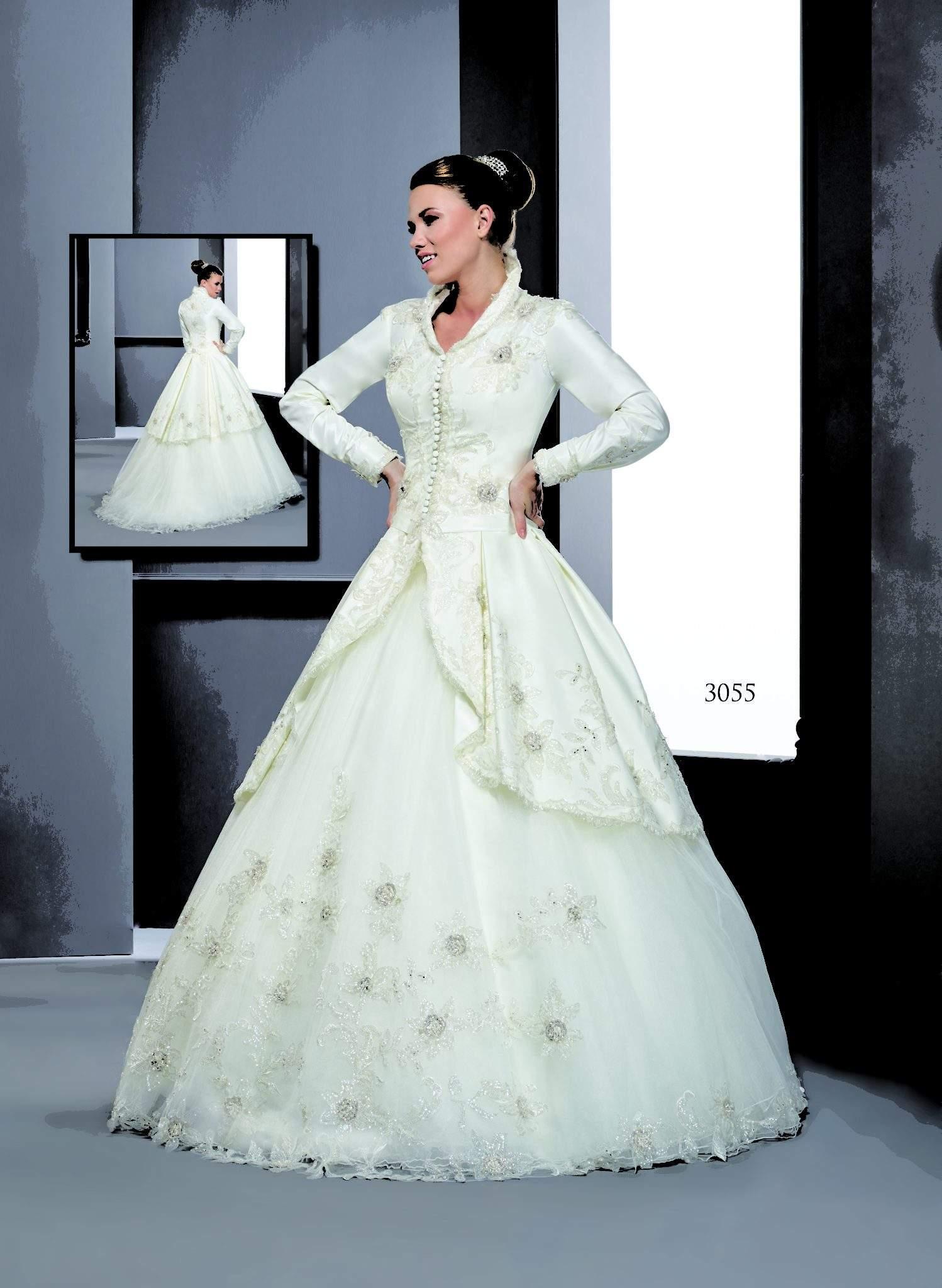 a01029904b Long Sleeve Wedding Dress Coats - Darius Cordell Fashion Ltd