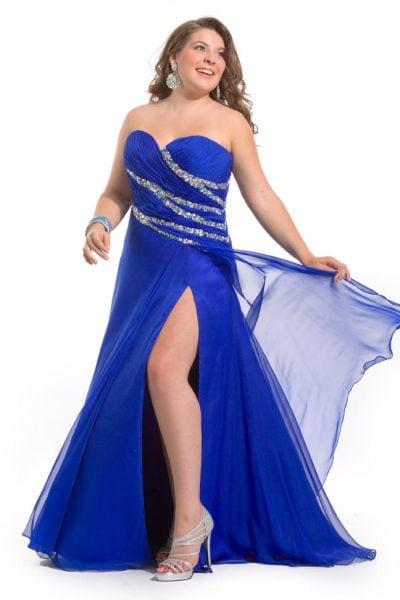 Plus Size Pageant Dresses - Pageant Evening Gowns