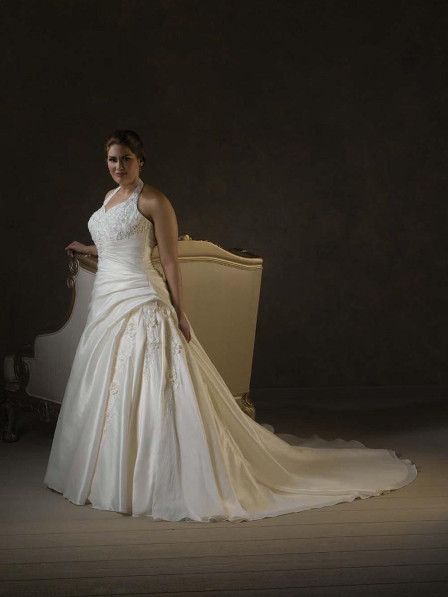 Style pic#m5 - Halter Wedding Dresses for Plus Size Women ...