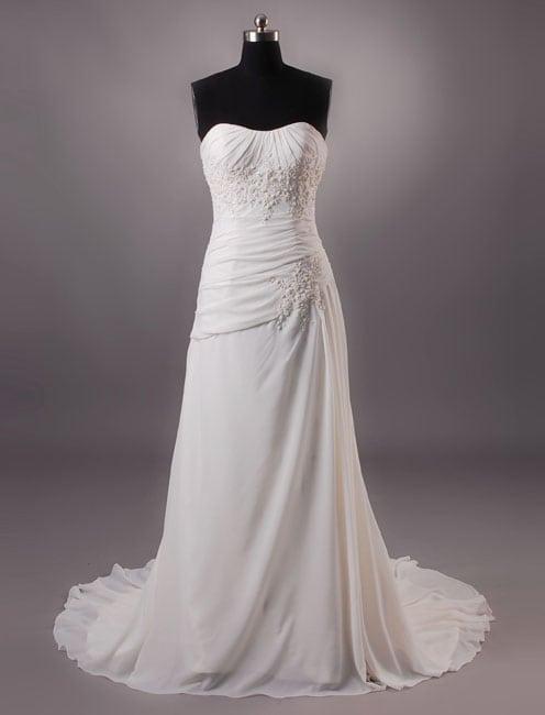 Informal Wedding Dresses.Strapless Informal Wedding Dresses W Gathers Darius Cordell Fashion Ltd