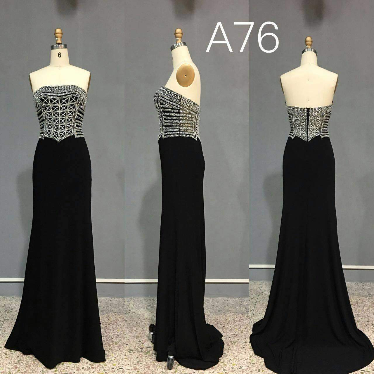0c090c70278 Strapless black formal dresses - Darius Cordell Fashion Ltd