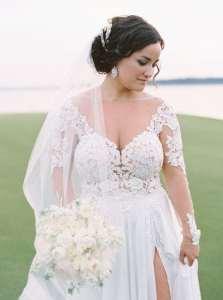 Custom Plus Size Wedding Dresses | Darius Cordell - Designer