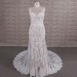 48bafc0e1 FB1107-1 Darius Cordell Custom Plus Size Lace Wedding Dresses