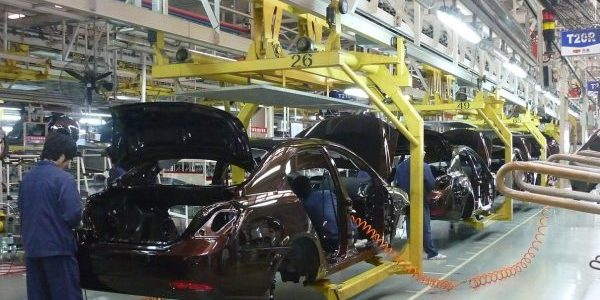 AUTOMOTIVE MANUFACTURING, JUST-IN-TIME PLANNING, GEELY, BEILUN, CHINA