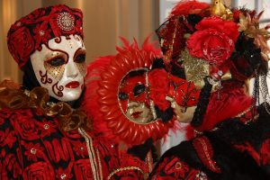 VENETIAN CARNIVAL, MASQUE OF THE RED DEATH, EDGAR ALLAN POE, HORROR, HISTORY