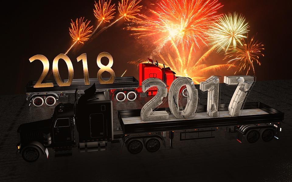 NEW YEARS 2018, 2017